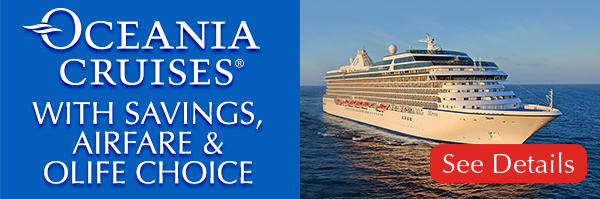 Oceania Cruises With Savings Airfare OLife And More - Cruises with airfare